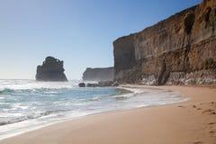 Massieve klippen in Nieuw Zuid-Wales Stock Foto's