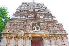 Massieve oude tamil nadu India van tempel complexe chidabaram Stock Afbeelding