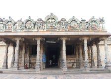Massieve oude tamil nadu India van tempel complexe chidambaram Royalty-vrije Stock Afbeelding