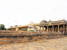 Massieve oude tamil nadu India van tempel complexe chidambaram Stock Afbeelding