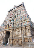Massieve oude tamil nadu India van tempel complexe chidambaram Royalty-vrije Stock Foto's