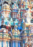 Massieve oude tamil nadu India van tempel complexe chidambaram Stock Afbeeldingen