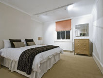 Massieve slaapkamer stock foto's
