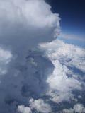 Massieve wolken Stock Foto's