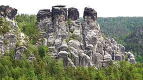 Massif Bastei Royalty Free Stock Photo