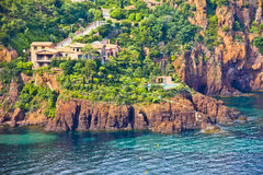 Massif de l'Esterel, south of France Royalty Free Stock Images