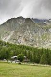 Massif de Mont-Blanc Fotografia de Stock