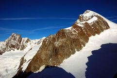Massif de Mont Blanc fotografia de stock