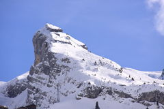 Massif de montagne Images stock