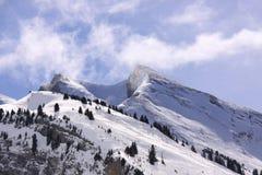 Massif de montagne Photos stock
