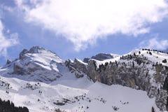 Massif de montagne Photos libres de droits