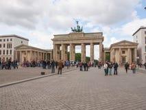 Massif de roche Berlin de Brandenburger images stock