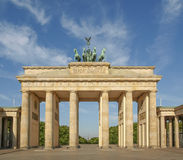 Massif de roche Berlin de Brandenburger photographie stock