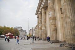 Massif de roche Berlin de Brandenburger Images libres de droits