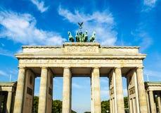 Massif de roche de Brandenburger, Berlin images stock
