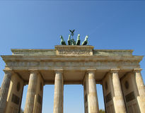 Massif de roche de Brandenburger, Berlin photographie stock libre de droits