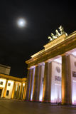 massif de roche de brandenburger de Berlin images libres de droits