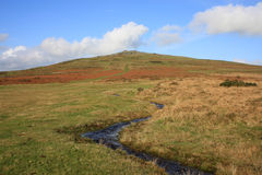 Massif de roche de Cox, Dartmoor image libre de droits