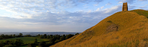 Massif de roche de Glastonbury Image stock