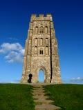 Massif de roche de Glastonbury Images stock