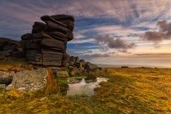 Massif de roche de Steeple Photo stock
