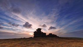 Massif de roche de Steeple Images stock