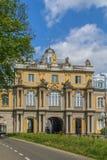 Massif de roche de Koblenzer de porte à Bonn, Allemagne Photographie stock libre de droits