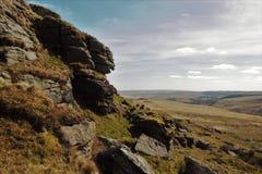 Massif de roche rugueux Photo libre de droits