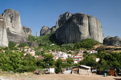 Massif of Meteora Royalty Free Stock Image