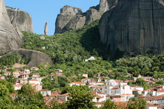 Massif of Meteora Stock Photo