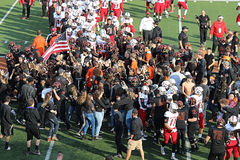 Massillon Vrs McKinley Crowd Stock Images