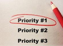 Massima priorità Immagini Stock Libere da Diritti