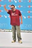 Massimiliano Bruno al Giffoni Film Festival 2015 Imágenes de archivo libres de regalías