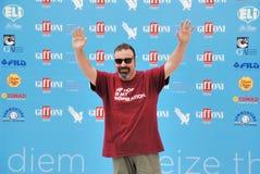 Massimiliano Bruno al Giffoni Film Festival 2015 Imagenes de archivo