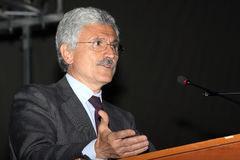 Massimo D'Alema Stock Photography