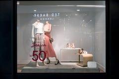 Massimo Dutti-de winkel in Emquatier, Bangkok, Thailand, brengt 8, 2018 in de war Stock Afbeeldingen