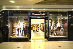 Massimo Dutti Store. In Istanbul Mall, Turkey Stock Photos