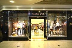 Massimo Dutti Store Stock Photos