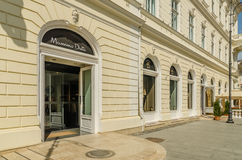 Massimo Dutti Store Imagen de archivo libre de regalías
