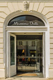 Massimo Dutti Store Royalty Free Stock Photo
