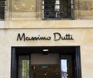 Massimo Dutti store Royalty Free Stock Images