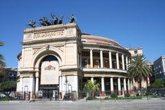 massimo teatro Palermo Obrazy Royalty Free
