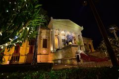 Massimo Theatre, Palermo royalty free stock image