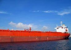 massiv supertanker Arkivfoto