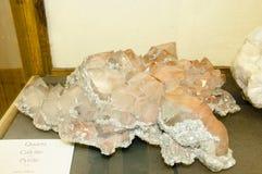Massiva kvartskristaller Arkivfoto