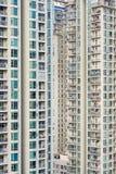 Massiva resdiential torn i det Shenzhen centret, Kina Royaltyfria Foton