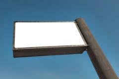 Massive Advertesing Sign. Over an blue sky Stock Photos