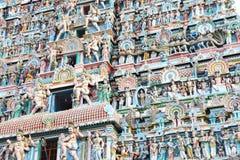 Massive ancient temple complex chidambaram tamil nadu india Stock Photos