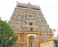 Massive ancient temple complex chidambaram tamil nadu india Royalty Free Stock Images