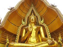 Massive Buddha Statue Stock Photo